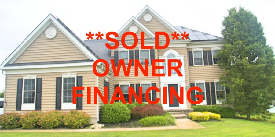 4BR 2.5BA Owner Financed Swedesboro Home